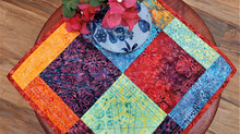 Walking Foot Stitching with the Kismet Thread Collection from Aurifil