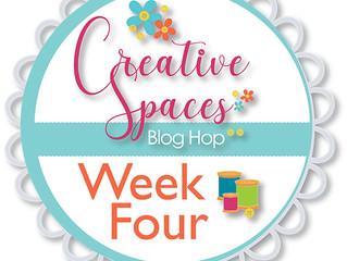 Creative Spaces Blog Hop: Week 4 Fabric Organization
