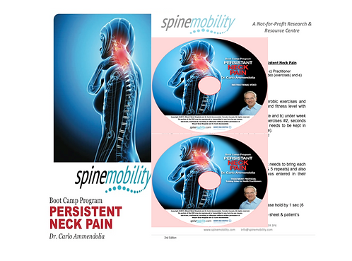 Persistent Neck Pain Boot Camp Basic Starter Kit for Practitioners