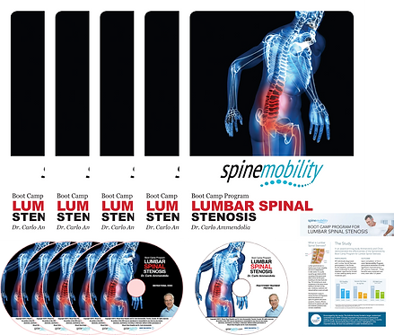 Lumbar Spinal Stenosis Boot Camp Practitioner Value Startup Kit  (Includes 5)