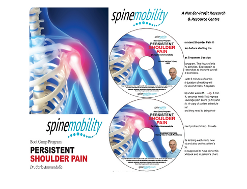 Persistent Shoulder Pain Boot Camp Basic Starter Kit for Practitioners