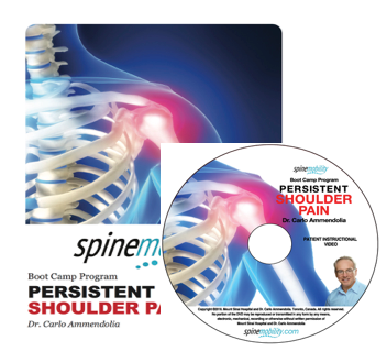 Persistent Shoulder Pain Patient Workbook and DVD for Patients