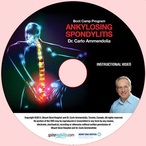 Ankylosing Spondylitis Boot Camp Program Patient DVD (Includes 5)