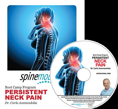 Persistent Neck Pain Boot Camp Program Patient Workbook & DVD for Patients