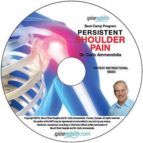 Persistent Shoulder Pain Boot Camp Program Patient Instructional DVD (includes 5