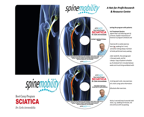 Sciatica Boot Camp Program Basic Starter Kit for Practitioners