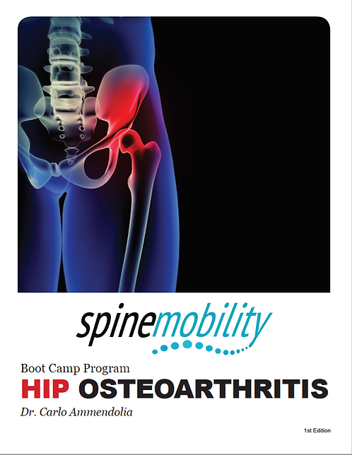 Hip Osteoarthritis Boot Camp Program Patient Workbook