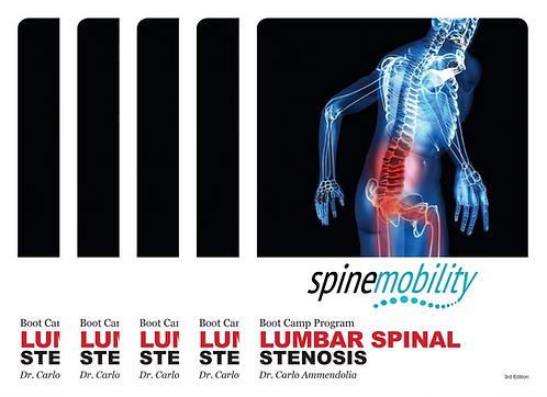 Lumbar Spinal Stenosis Boot Camp Program Patient Workbook Bundle (Includes 5)