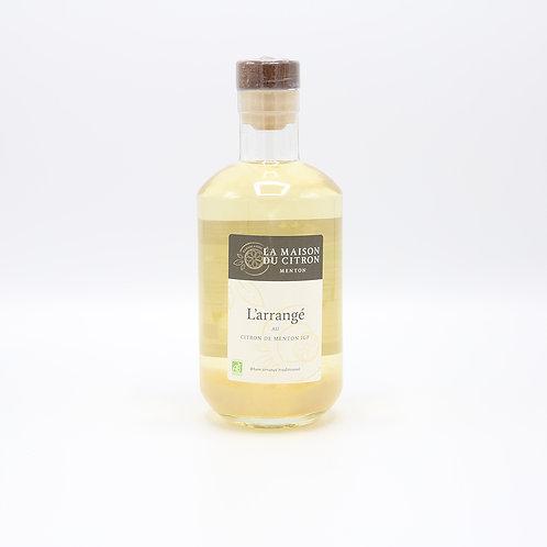 Bio witte rum met citroen
