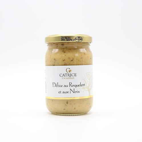 Délice van roquefortkaas en noten