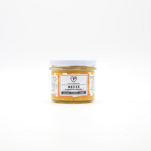 Mezze wortel - sesam - limoen - komijn BIO