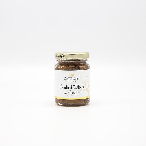 Confit van olijven met citroen 80 g