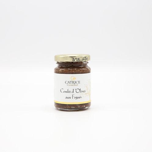 Confit van olijven met vijgen 80 g