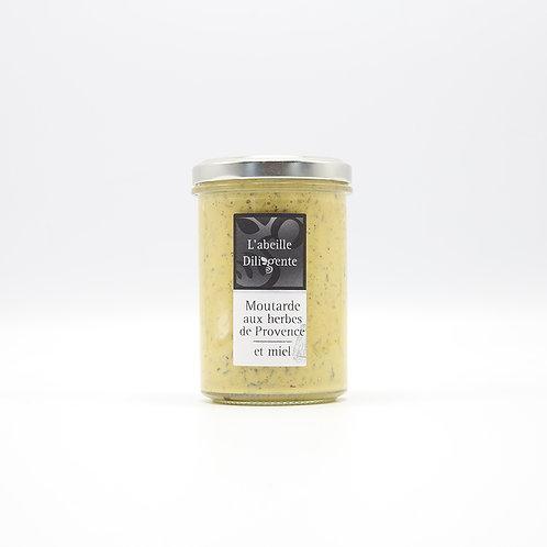 Moutarde aux herbes de provence et miel