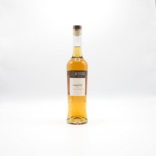 BIO Apéritif vin orange amère