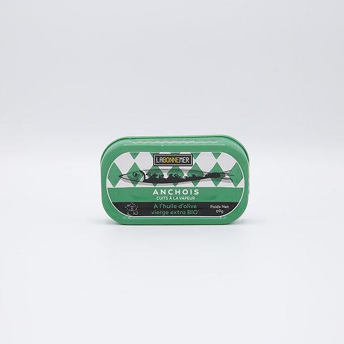 Bio ansjovis olijfolie 69 g