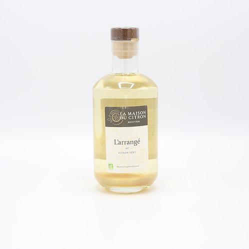 Bio witte rum met limoen
