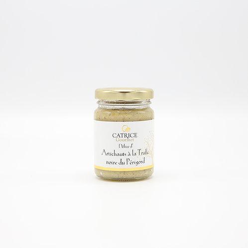 Artisjokmousse met zwarte truffel 80 g