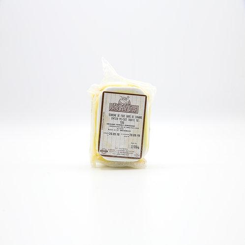 Terrine van foie gras entier mi-cuit 10% truffel