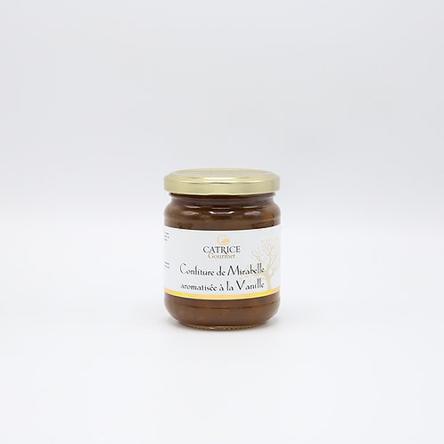 Confituur mirabelle - vanille