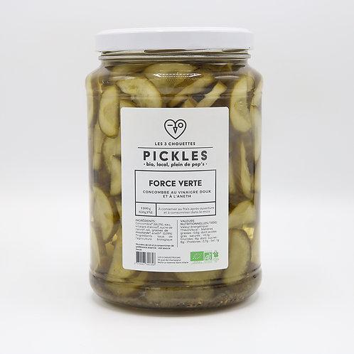Gepekelde groenten komkommer-dille 1400 g