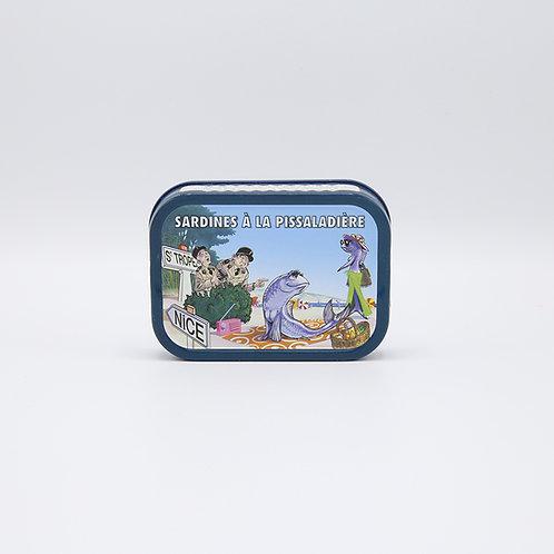 Sardines pissaladière (ui, ansjovis) 115 g