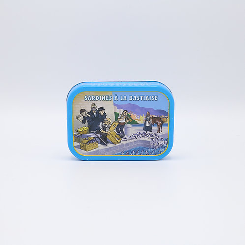 Sardines bastiaise (look, peterselie, ui) 115 g