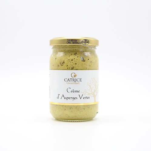 Crème van groene asperges