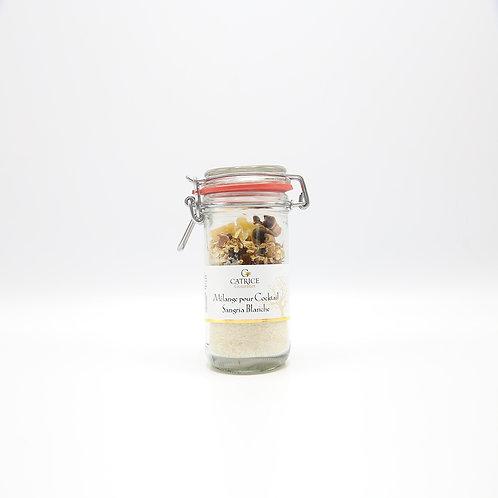 Mélange pour cocktail sangria blanche