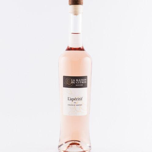 Aperitif vin orange amère