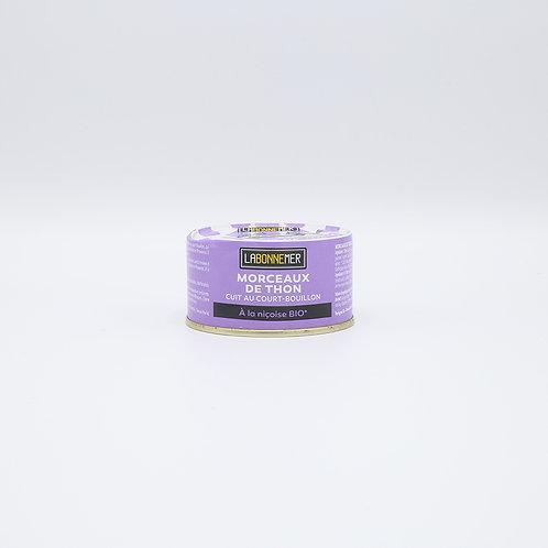 Bio tonijn niçoise (ui-paprika) 125 g