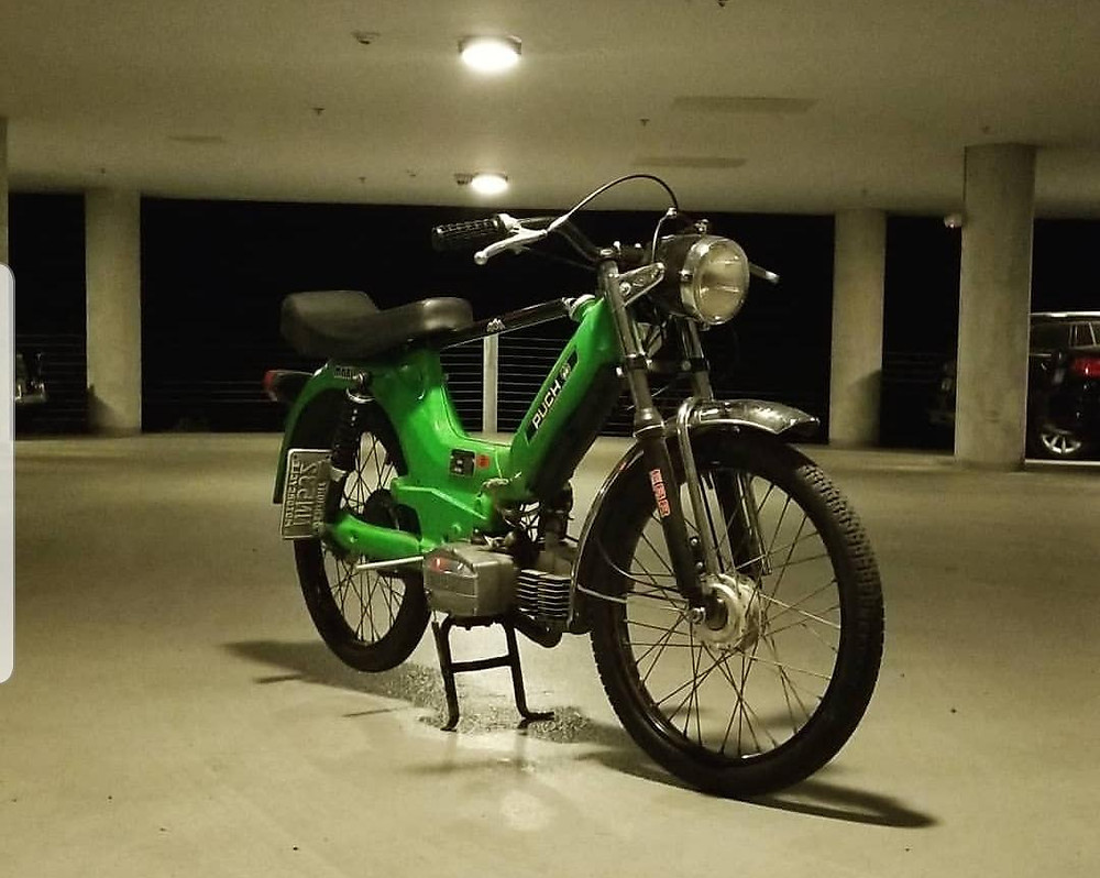 1977 Puch Maxi Cafe