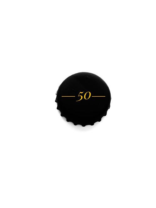 50 Custom 0'buttons