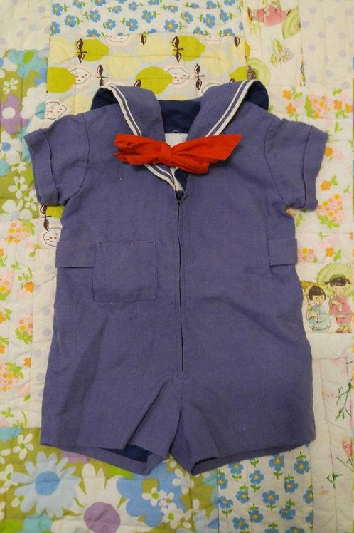 Florence Eiseman Sailor Jumpsuit Toddler Infant
