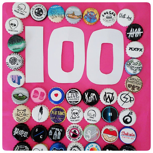 100 Custom O'buttons