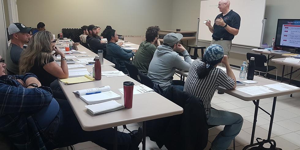 Alberta Basic Security Training: Jan 21-25
