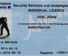 When to Update your Security Licence