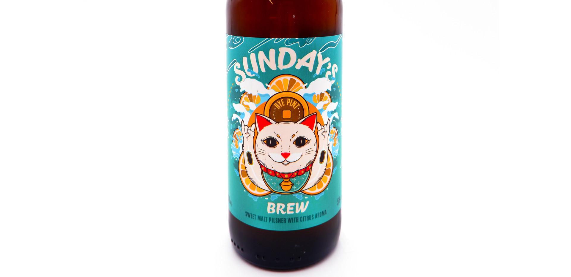 Sunday's Brew Pilsner