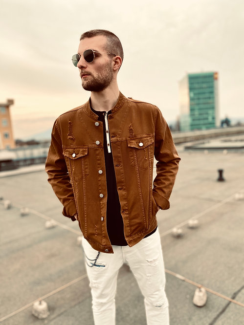 Giacca Jeans 103 Tabacco