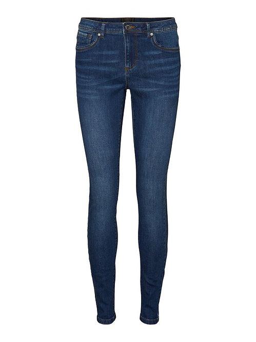 Jeans Tanya Vita media blu