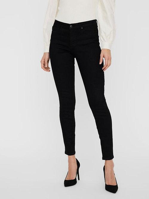 Jeans Judy Vita Media Nero