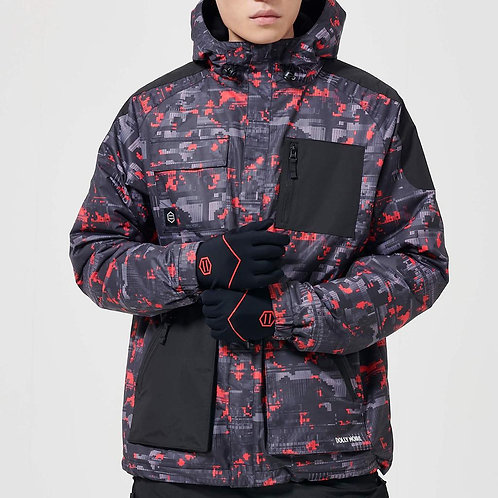 Giacca Dolly Noire - Full Zip Camo