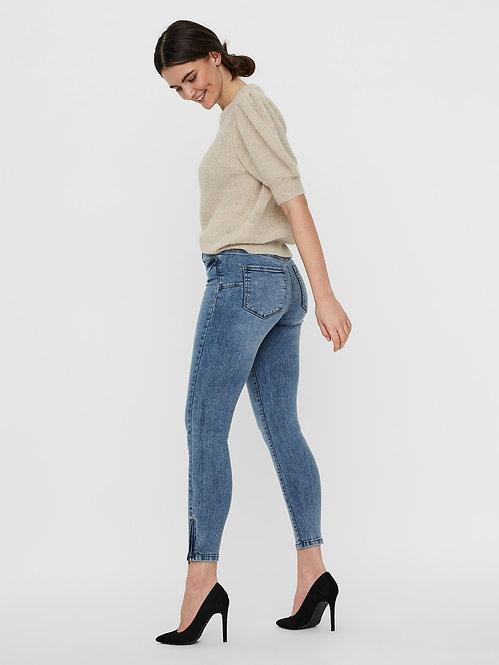 Jeans Tilde zip .blu