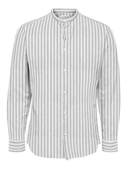 Camicia Linen Righe