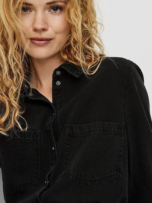 Camicia Jeans nera