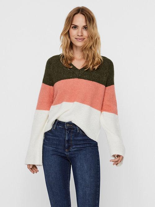 Maglione tricolore