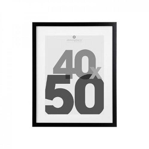 Cornice nera 40x50