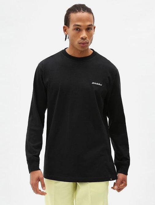 T-shirt Loretto manica lunga Dickies nera