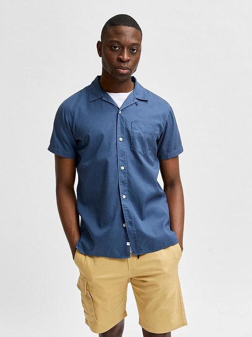 Camicia regsoft blu