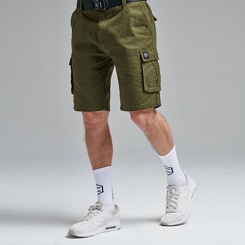 Shorts Cargo Ripstop Militare Dolly Noire